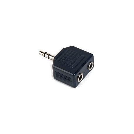 Divisor Jack 3,5mm, 2 x Jack 3,5mm, stereo