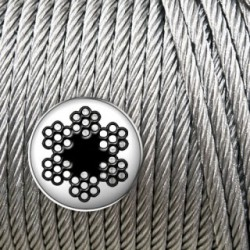 Cable de acero galvanizado 4mm