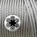 Cable de acero galvanizado 6mm (100m)